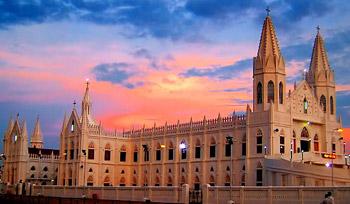 インドのキリスト教のサイト